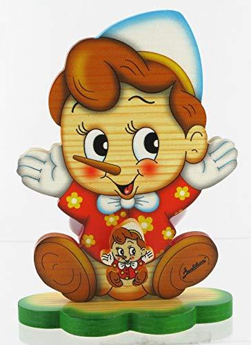 Lutèce Créations Boîte à Musique en Bois à Poser: boîte à Musique Bartolucci à Ressort avec Pinocchio (Réf: BARTOLUCCI-POSE-07-2) - When You Wish Upon a Star (L. Harline)