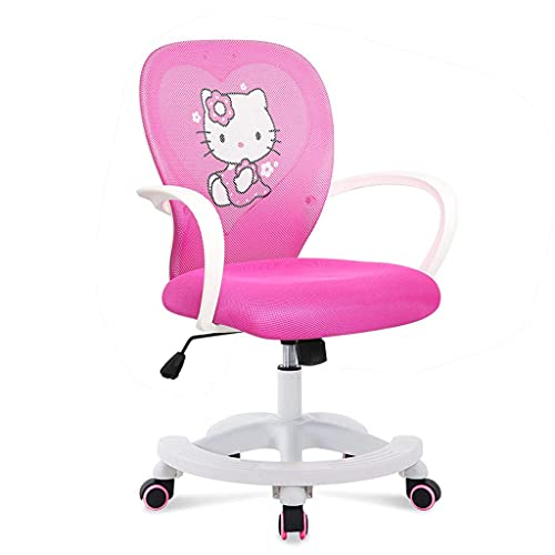 N&O Renovierungshaus Büro Schreibtischstuhl Verstellbarer Mid Back Home Kinder Studienstuhl Einfache einfache Anpassung für perfekte Unterstützung am Körper des wachsenden Kindes