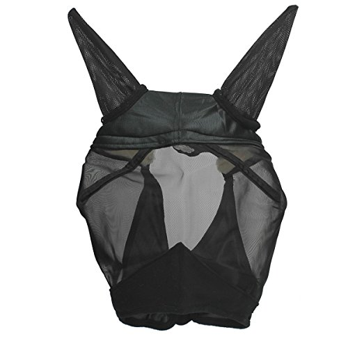 Busse Fliegenmaske Fly Saver, Warmblut, schwarz