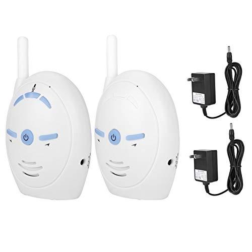 Monitor de vídeo para bebés, Monitor de bebé con Audio Digital inalámbrico de 2,4 GHz, cámara con intercomunicador para niñera, Alarma electrónica, micrófono Interno y parlante(AU 100-240V)