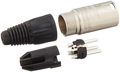 Neutrik XLR-Stecker NC-3MX, 3-polig
