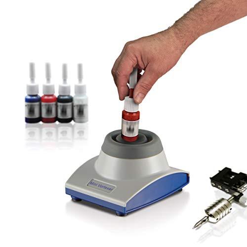 Mini Vortex Mixer, Touch Function, 4500 RPM, Gel Polish, Nail Polish, Eyelash Extension Glue, Acrylic Paints, Permanent Makeup pigments, Tattoo Ink Bottles, Acrylic Paint