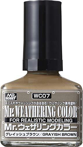 GSIクレオス Mr.ウェザリングカラー グレイッシュブラウン 40ml 模型用塗料 WC07