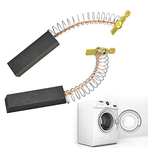 MONSIVILIA 2 STKS Carbon Borstels Compatibel Bosch Wasmachine voor Bosch Siemens Wasmachine