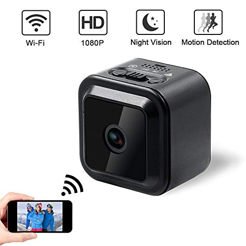 Verborgen mini spioncamera verborgen bewakingscamera extreme sport camera home camera 1080p HD draadloze camera ondersteuning voor meerdere apparaten