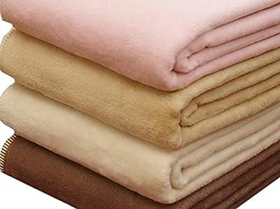 公式 三井毛織 純粋 綿 綿毛布 シングルサイズ 140x200cm カリフォルニア綿 オフホワイト 日本製