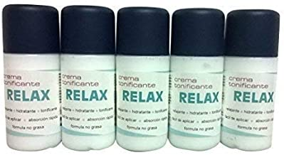 Relax Cream Ton icante Crema Hidratante 5x 100ml
