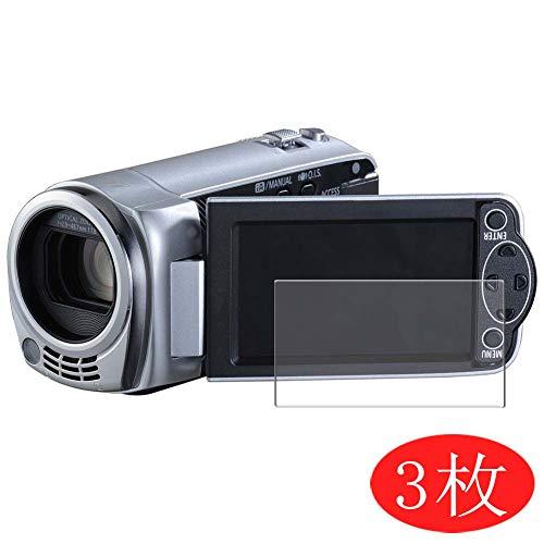 VacFun 3 Pezzi Trasparente Pellicola Protettiva Compatibile con Panasonic HDC-TM25, Screen Protector Protective Film Senza Bolle e Auto-Curativo (Non Vetro Temperato) Protezioni Schermo New Version