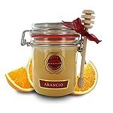 Brezzo Miele Italiano di Arancio, Linea Antologia dei Mieli, Vasetto Ermetico con Dosamiele, 400 Grammi
