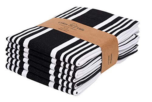 Top 10 Best Selling List for kitchen towels black and white