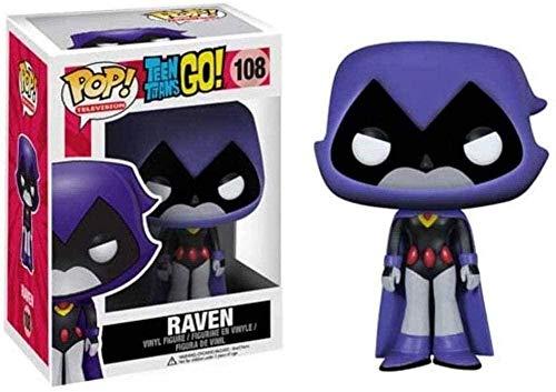 ADIS Pop! ¡Los Jóvenes Titanes Van! - Figura de Vinilo Coleccionable de Raven de la clásica Serie de Dibujos Animados