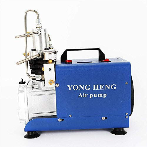 Bomba de aire eléctrica de 1800 W con parada automática, compresor de aire de alta presión, 220 V, rifle PCP, buceo para la botella de inflado