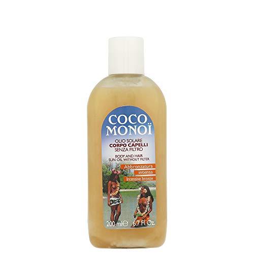 Coco Monoi Olio Solare Corpo Capelli Senza Filtro 200 Ml
