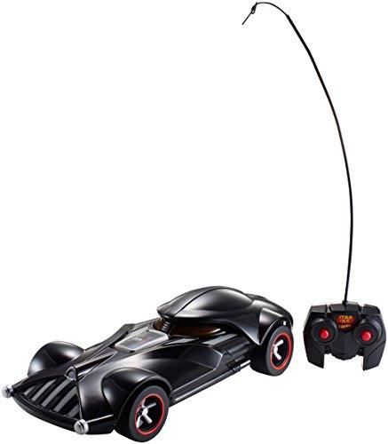 Hot Wheels - FBW75 - Mattel - Star Wars Darth Vader véhicule RC avec Sons et lumières et télécommande
