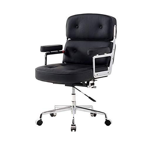 HIZLJJ Computer Gaming Chairs Video Game Chairs Home Office Desk Chairs Height Adjustable, Ergonomic, Tilt Function Executive Swivel Computer Chair PU
