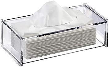 Plexiglass Tissue Box - Open Top - Clear