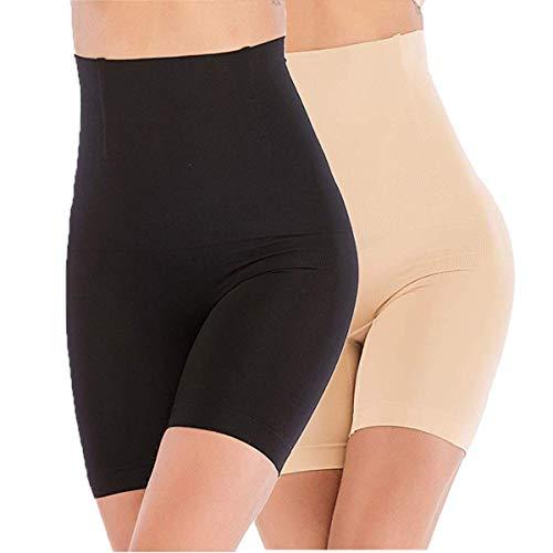 ANGOOL Cintura Alta Faja Tanga Braguitas Body Moldeador Abdomen Invisible Shapewear Faja...