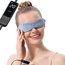 Aroma Season Moist Heated Eye Mask For Stye Blepharitis treatment with Flaxseed, Warm Therapy to Unclog glands, Relieve Dry Eye Syndrome, Chalazion, Stye, MGD and Blepharitis (Blue)
