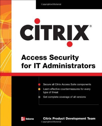 Citrix® Access Suite Security for IT Administrators (English Edition)