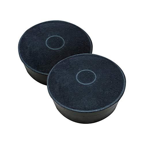 REDPOINT® Set mit 2 Kohlenstofffiltern für Dunstabzugshaube Ø125 H42 - anpassbar Faber