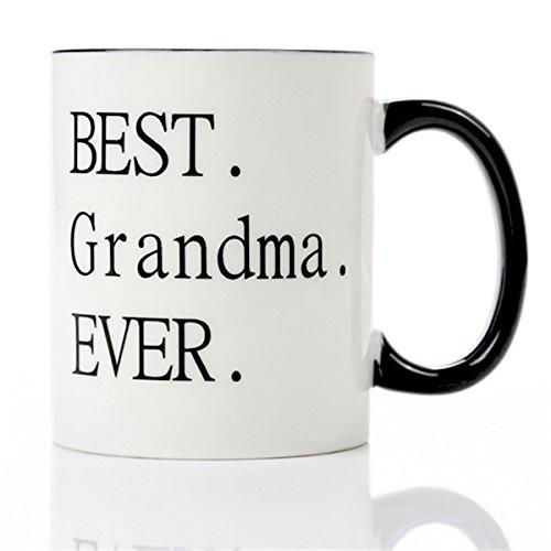 Mothers Day Gift For Grandma-Best Grandma Ever -11 OZ Ceramic Coffee...