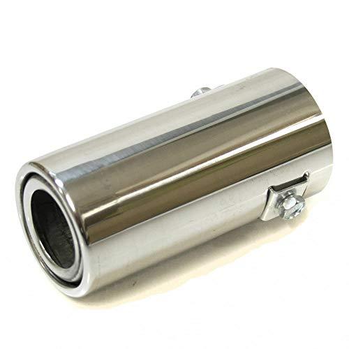 Autohobby 3190 Auspuffblende Auspuff Universell Schalldampf Endrohr Endrohrblende Blende Sport Edelstahl bis 46mm Chrom A B C G H J CC 3 4 5 6 7