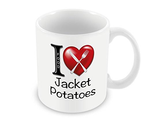 Chalkhill Printing Company CP 437 voedsel mok - liefde jas aardappelen