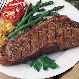 Bison New York Bone-in Strip Steaks 16 Oz. (Count of...
