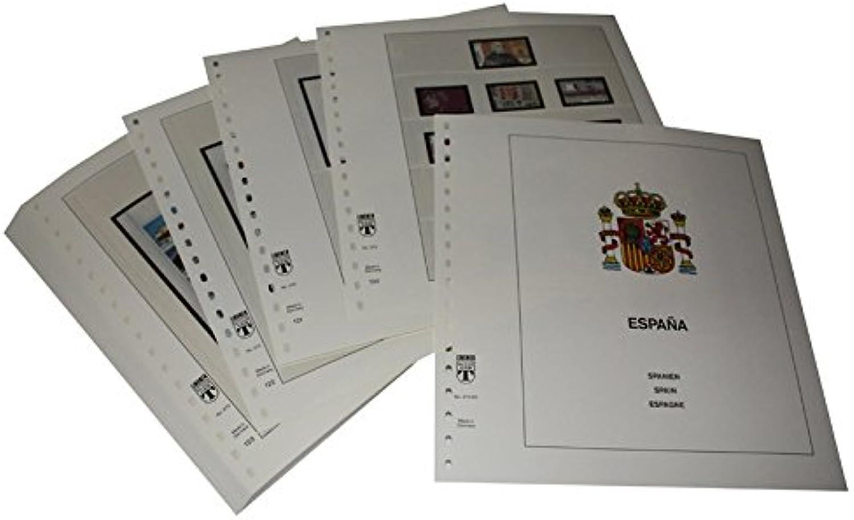 Lindner T Vordruckbltter T272 92 Spanien - Jahrgang 1992 bis 1997