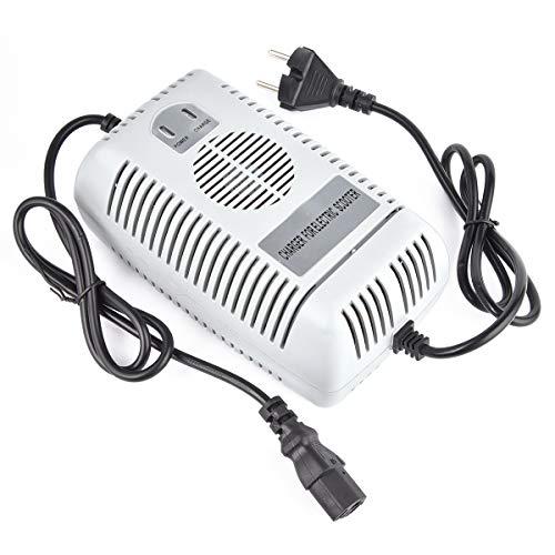 48 V 2,5 A Batería de ácido de Plomo sellada Cargador rápido Puede reemplazo para 1.6A 1.8A 2.0A Scooter electrico Triciclo Cargadores