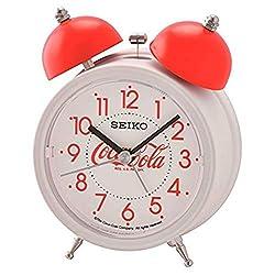 SEIKO Deux Bell Alarm Clock by Coca-Cola