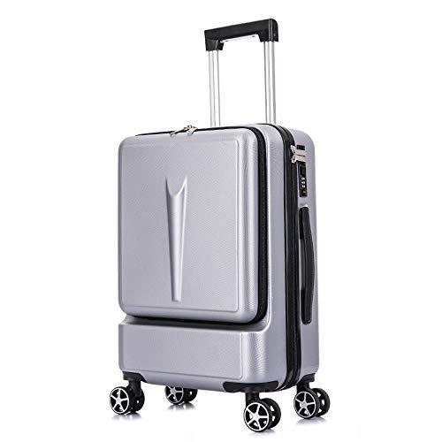 Afgelegen bagage koffers met wielen dragen op maat 24 Inch koffer Spinner PC+ABS met TSA slot