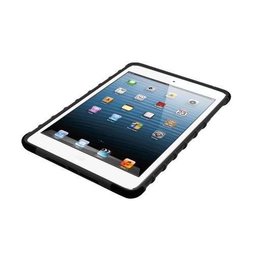 iHome by Lifeworks Technology Tough Case for iPad mini, Black (IH-IM1140B)