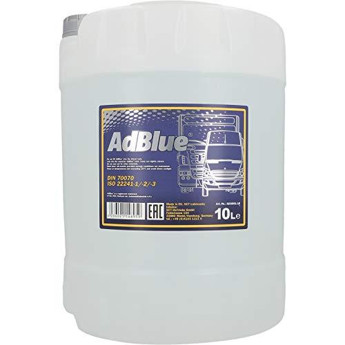 MANNOL 2AD00010000 10 Liter ADBLUE SCR Abgasnachbehandlung PKW LKW Reduktionsmittel