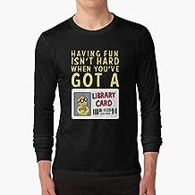 Arthur Library Card Long Sleeve TShirt, Unisex Hoodie, Sweatshirt For Mens Womens Ladies Kids