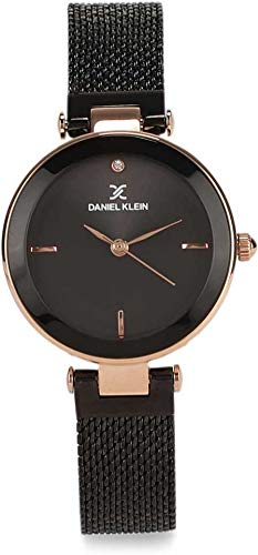 Daniel Klein Analog Black Dial Women's Watch-DK11903-5