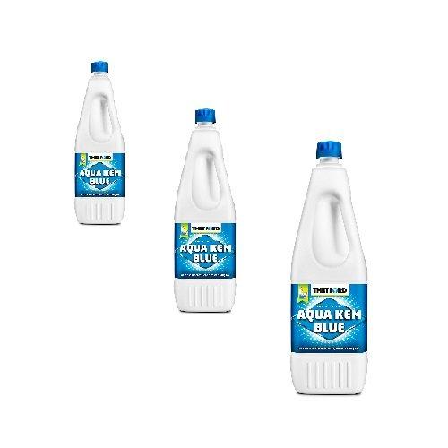 Thetford KEM Blue 2L Aqua, Lot de 3