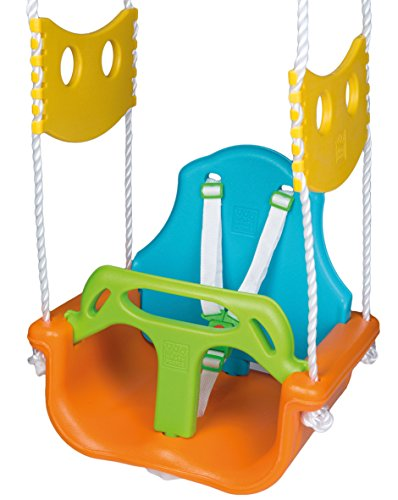 HappyPeople 3 in 1 Schaukel First Class,PP-plastica, belastbar bis100kg, PE-Seile: DM ca.