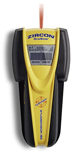 Zircon i65 Stud Sensor CenterFinding Battery Operated Stud and Metal Finder with Live Wire Detection