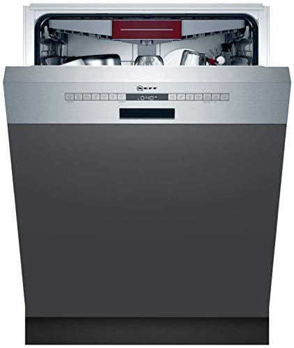 NEFF S245ECS11E XXL Geschirrspüler teilintegriert Edelstahl Breite 60cm