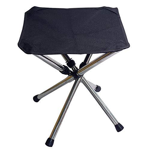 C/N Silla plegable de camping plegable taburete de pesca Lightwight silla portátil para acampar al aire libre viajes, senderismo, playa jardín L