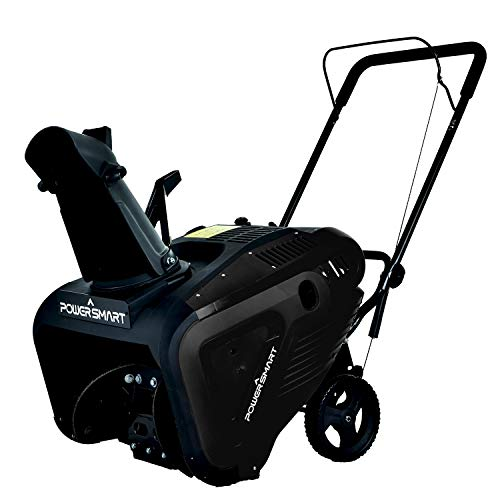 PowerSmart Snow Blower, 21-INCH Single Stage Gas Snow Blower, 196CC Powered Snow...