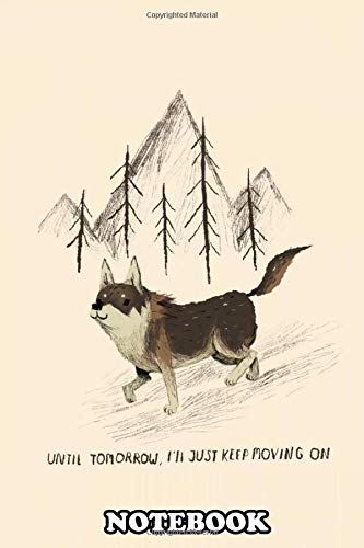 """Notebook: The Littlest Hobo Tribute , Journal for Writing, College Ruled Size 6"""" x 9"""", 110 Pages"""