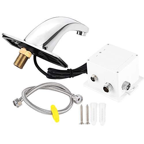 zcyg Grifo Grifo De Agua, Manos De Lujo con Sensor Libre De Cuenca del Sensor Infrarrojo Infrarrojo Sin Touchles Toques con Cable (Barco Sin Baterías)