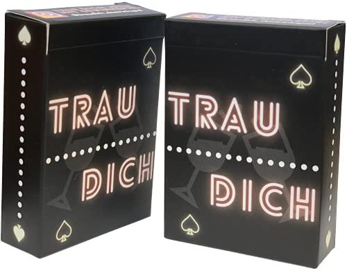 TRAU DICH - DAS TRINKSPIEL | Das wahrscheinlich lustigste Trinkspiel aller Zeiten - Partyspiel - Saufspiel - Kartenspiel - Spieleabend - Junggesellenabschied - Scherzartikel - Spaß für alle