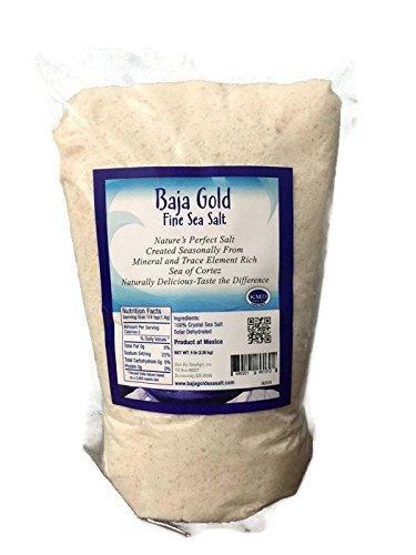 Baja Gold Sea Salt Weekly update Limited price Fine Highest 5 Mineralized Pound Kosher