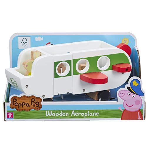 Peppa Pig- Avión de Madera. (Character Options LTD 07211)