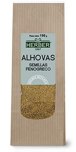 ALHOVAS SEMILLAS FENOGRECO, 150 G HERBER