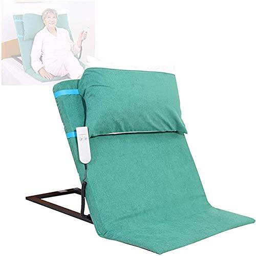 WXking El respaldo de la cama de elevación eléctrica eléctrica de la cama de ancianos, asistencia de respaldo ajustable Ayuda para sentarse, leer, dolor de espalda, dolor en la pierna, embarazo, despu
