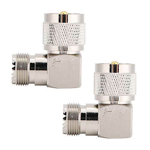 Adaptador UHF macho PL259 a UHF-SO239 hembra, convertidor coaxial, adaptador coaxial, para uso profesional doméstico